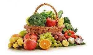 Употребление фруктов и овощей