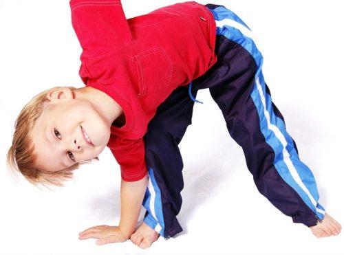 Гимнастика для детей при искривленной осанке