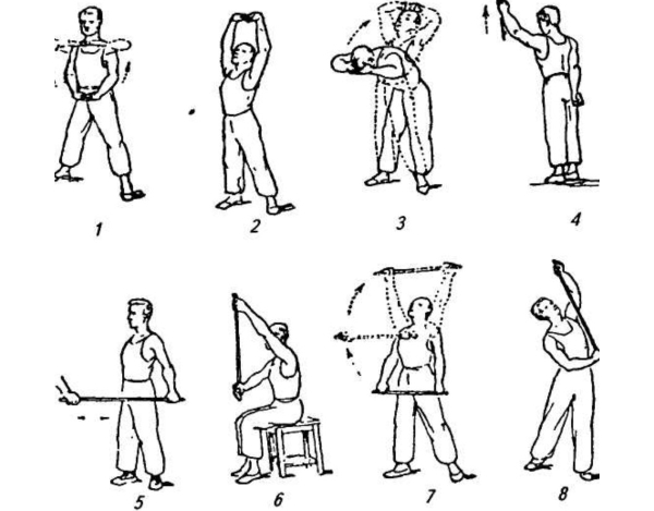 Гимнастика при травмировании ребер