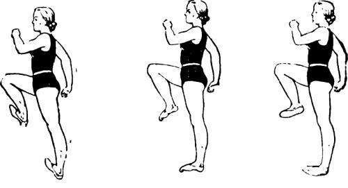 Ходьба с подниманием колен при остеопорозе