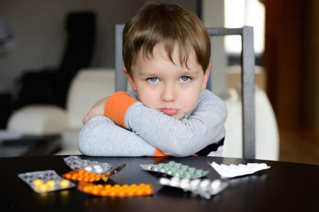 Нимулид при гриппе у детей