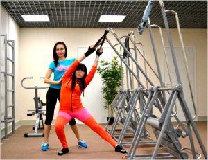 Упражнения под контролем инструктора