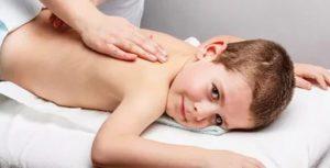 Массаж при остеохондрозе у ребенка