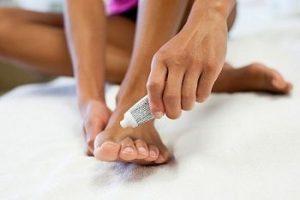Мази для косточки на ноге