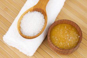 Медово–солевой компресс