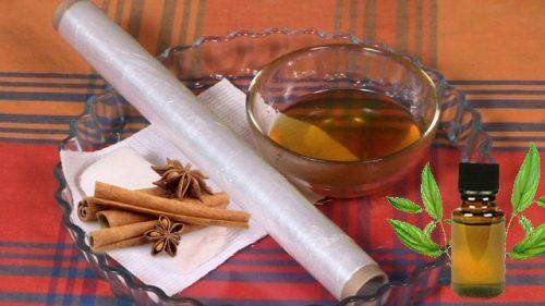 Компрессы с мёдом, маслом и корицей при артрите