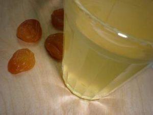 Напиток слабительный для восстановления функции кишечника