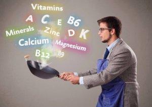 Насыщение витаминами и минералами