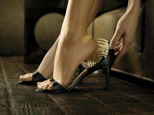 Боли при неудобной обуви