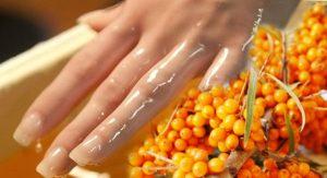 Облепиховая ванночка для рук