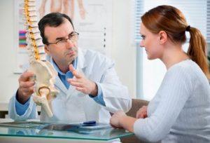 Обращение к врачу при остеохондрозе