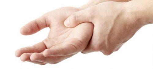 Онемение кисти руки