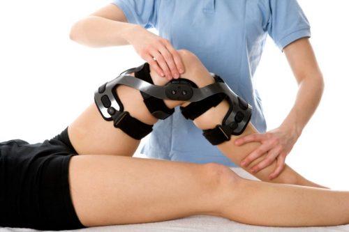 Подбор ортеза на колено