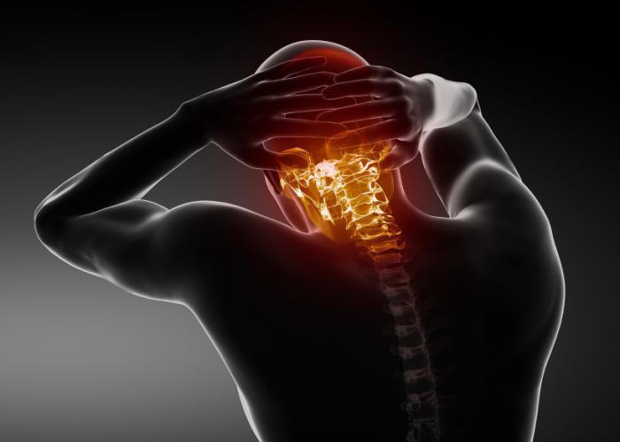 Болевые ощущения при шейном остеохондрозе