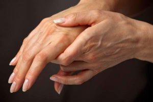 Ощущение боли при ревматоидном артрите