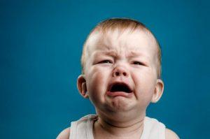 Беспричинный плач у ребёнка