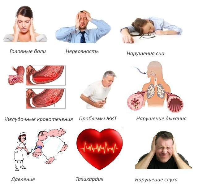 Побочные эффекты Флексена