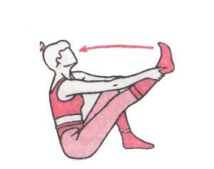 Подтягивание ноги к себе