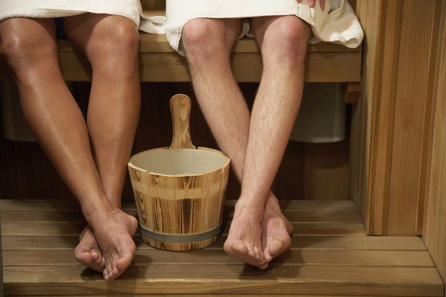 Посещение бани после переломов