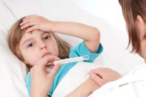 Повышение температуры у ребенка при артрите