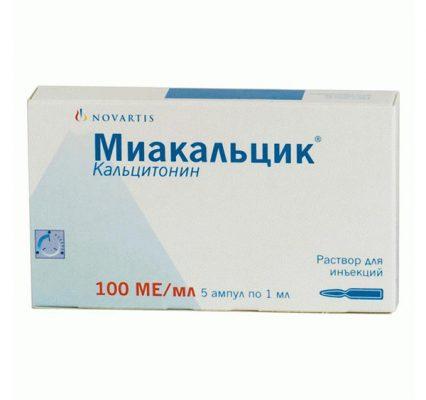 Препарат Миакальцик при остеопорозе