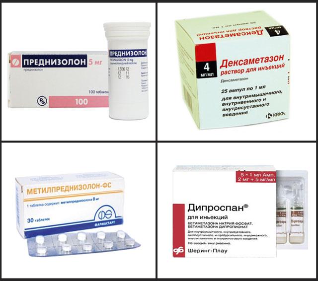 Препараты–глюкокортикоиды