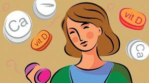 Прием кальция и витамина Д