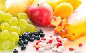 Прием витаминов для комплексного лечения