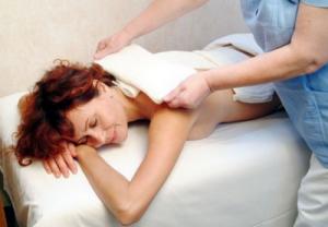 Применение компрессов при остеохондрозе