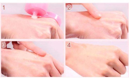 Проверка бальзама на аллергию