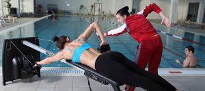 Работа с инструктором по плаванию
