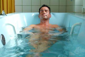 Радоновые ванны для позвоночника