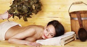 Расслабление и прогревание позвоночника в бане