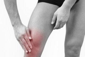 Разогревание колена
