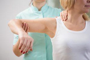 Разработка руки с переломом