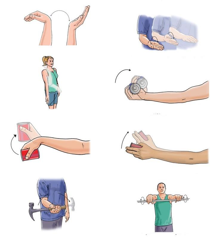Разработка поврежденной руки