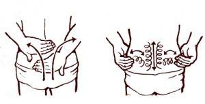 Самомассаж поясницы