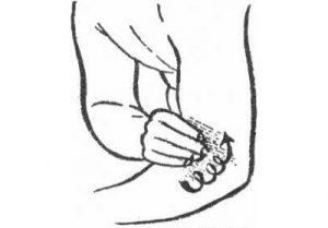 Самомассаж локтя