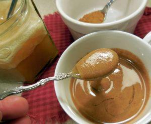 Смесь из мёда и корицы к чаю