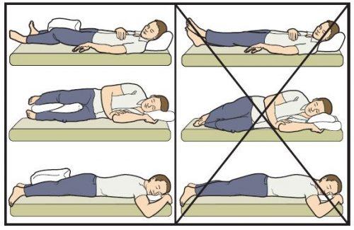 Сон после эндопротезирования тазобедренного сустава