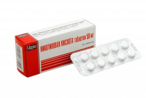 Таблетки с никотиновой кислотой