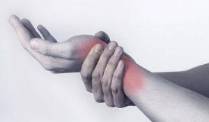 Боль и покраснение запястья