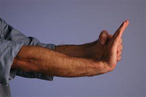 Тест подвижности локтя
