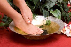Травяные ванночки для ног при подагре