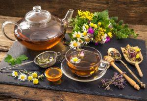Травяные расслабляющие чаи