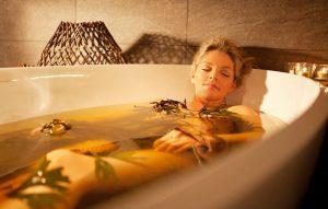 Травяные ванны при бурсите