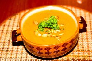 Тыквенный суп-пюре при подагре