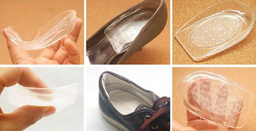 Комфортное ношение обуви при помощи подпяточника