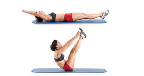 Упражнение складка при артрозе тазобедренного сустава