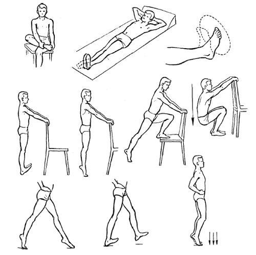 Упражнения для пяток